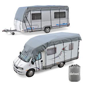 Wohnwagen-amp-Wohnmobil-Schutzdach-5x3m-Dachschutzplane-Abdeckung-Schutzhuelle
