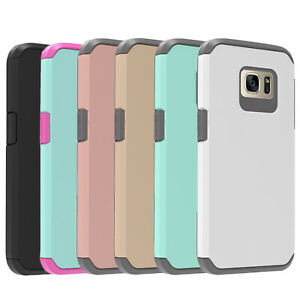 For-Samsung-Galaxy-S7-S7-Edge-Shockproof-Case-Glass-Screen-Protector