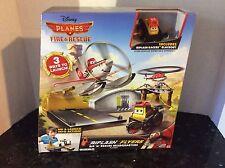 Disney Planes Mattel Fire and Rescue Riplash Flyers Rip 'N' Rescue Headquarters