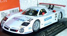 SLOT IT SICA14A NISSAN R390 GT1 LE MANS 1/32 SLOT CAR IN DISPLAY CASE