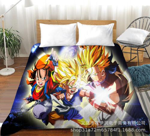 Dragon Ball 1 Piece Flat Sheet Top Sheet Soft Microfiber Flat Bed Sheets US Size