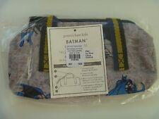 Boys Pottery Barn Kids Mackenzie BATMAN Pencil Case NEW