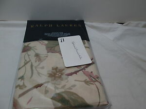 Ralph-Lauren-ARCHIVAL-Collection-WILTON-ROSE-FLORAL-Standard-Sham-Olive-Mauve