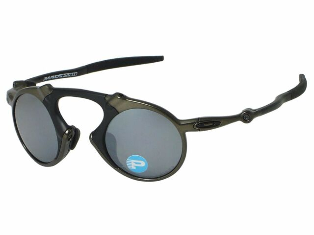 87db670961e New OAKLEY MADMAN - Pewter Frame w  Black Iridium Polarized Lens - OO6019-02