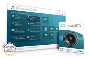 Details about Music Studio DVD 2019 Full Version Music Software Rip  Organise Burn FREE P&P