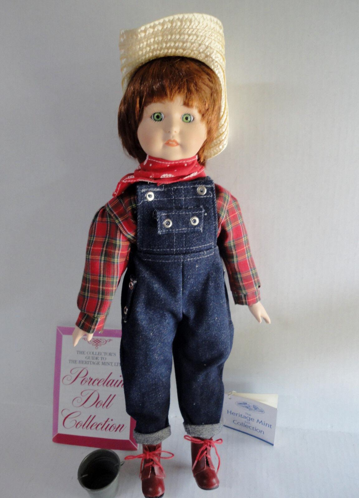Neuer 1989 Porzellan Kelsey Puppe 16
