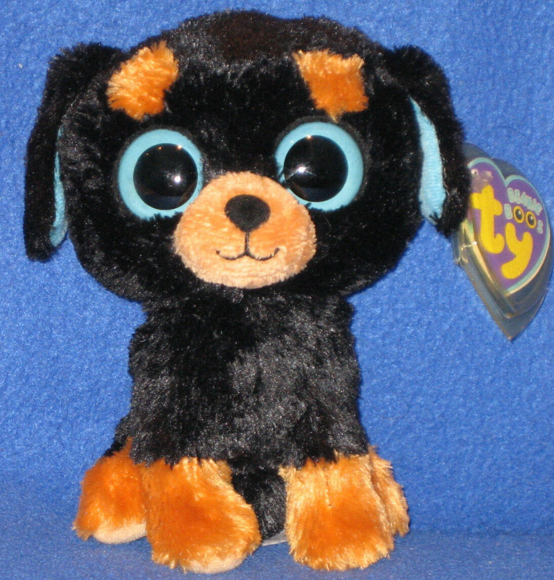 TY BEANIE BOOS - TUFFY the 6  DOG - MINT with MINT TAGS