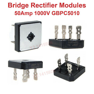 id:84f 07 50 768 New Lon0167 Ming KBPC5010 Featured Power Components 1000V Reliable Efficacy 50A Bridge Rectifier