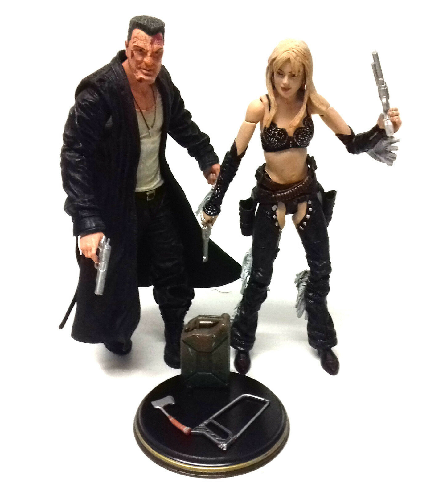 Frank Millers SIN CITY Movie Movie Movie Comic toy Figures MARV & NANCY with accessories b3fa55