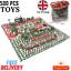 thumbnail 1 - 500pcs/Set Military Model Playset Toy Soldier Army Men Action Figures Children