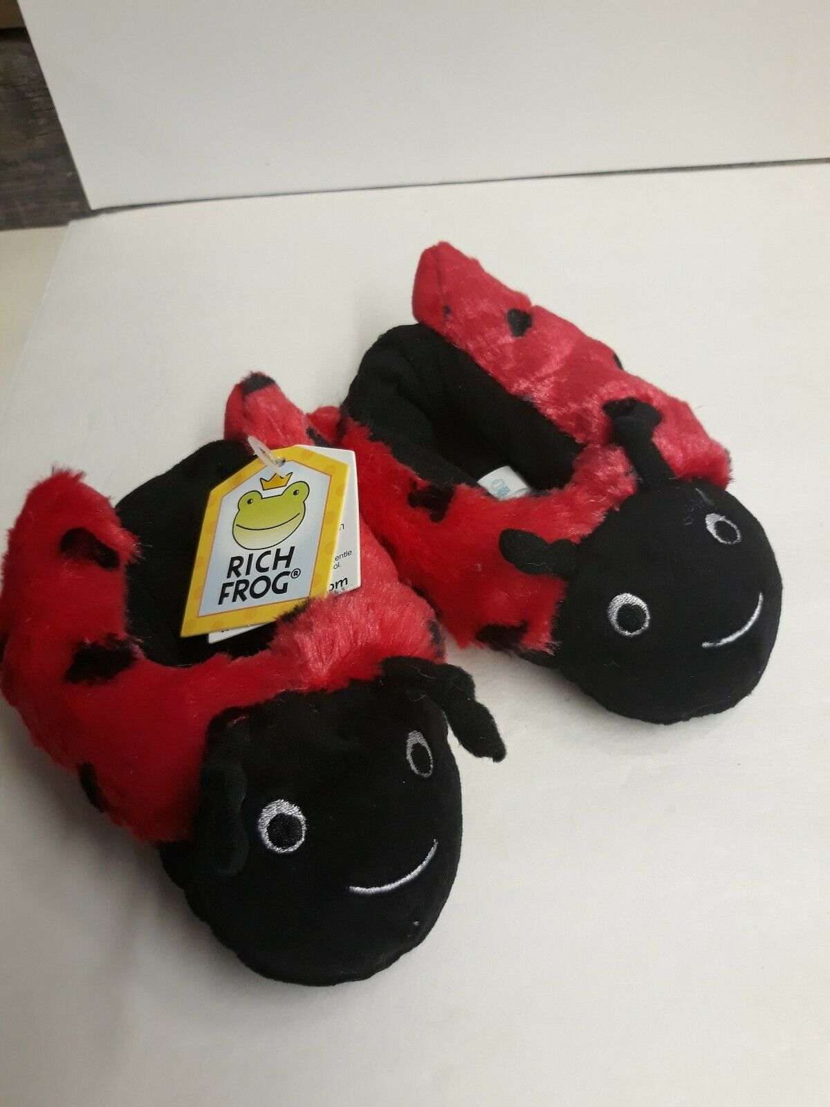 Lady Bug Funky Feet (3162) Fits Toddlers 1-3 Yr olds- Unisex-NWT