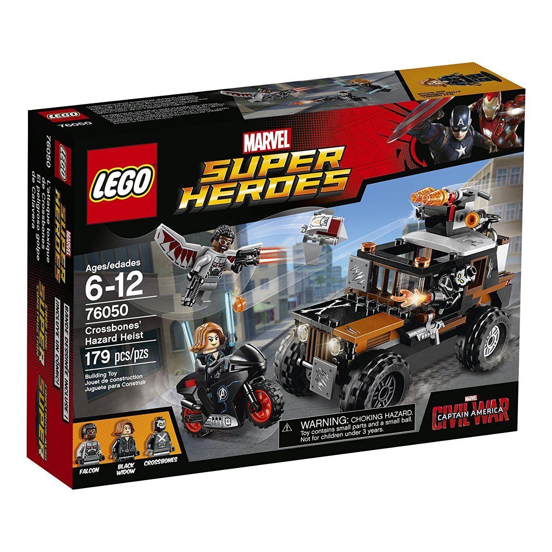 Lego Marvel Super Heroes 76050 Crossbones Gefährlicher Prossoatore