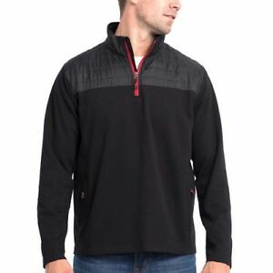 Mens-Eddie-Bauer-Lightweight-1-4-Zip-Pullover-Jacket-Sweater