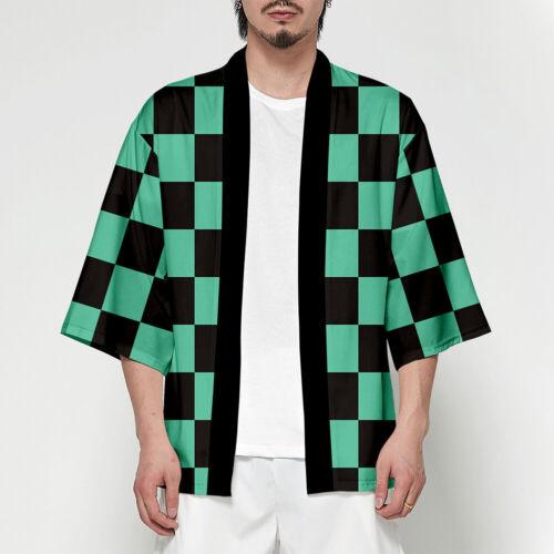 Anime Demon Slayer Kimetsu no Yaiba Characters Cosplay Kimono Haori Coat Top NEW