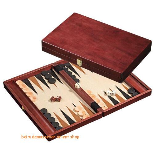 46x35x5 cm Backgammon Tavli Nerd tavola Checkers in legno tessere cubo