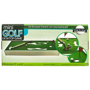 Mini Golf Set Desktop Game Toy Indoor Sports Gift Trainer Office ...