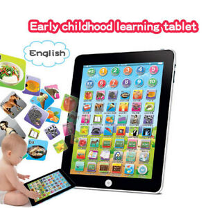 Baby-Tablet-Educational-Toys-Girl-Boys-1-6-Year-Old-Toddler-Learning-English-NEW