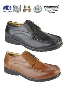 MENS ROAMERS EXTRA WIDE EEE LEATHER