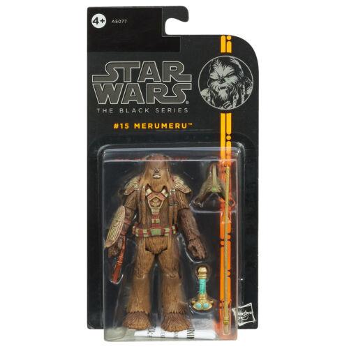 "Star Wars The Black Series 3.75/"" #15 Merumeru the bruitage Figure by Hasbro"