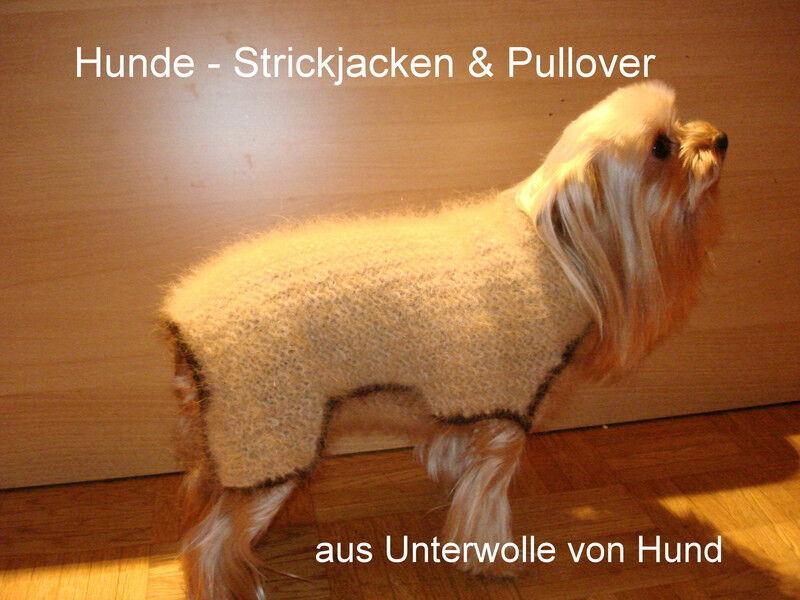 Hundin-Strickjacken Hundin-Pullover aus Unterwolle vom Hund für für für den Hundin (1) f56252