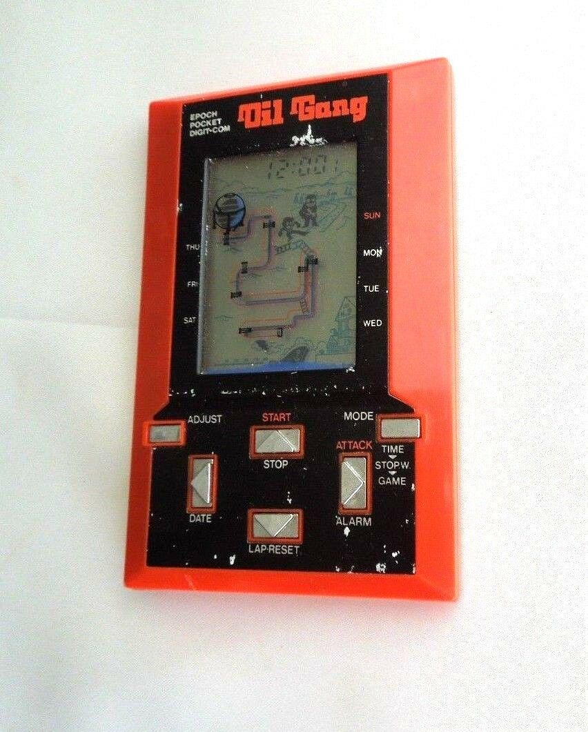Oil Gang Epoch Rare Vintage (1981) From Japan   2019    0105 Oil Gang Epoch Game