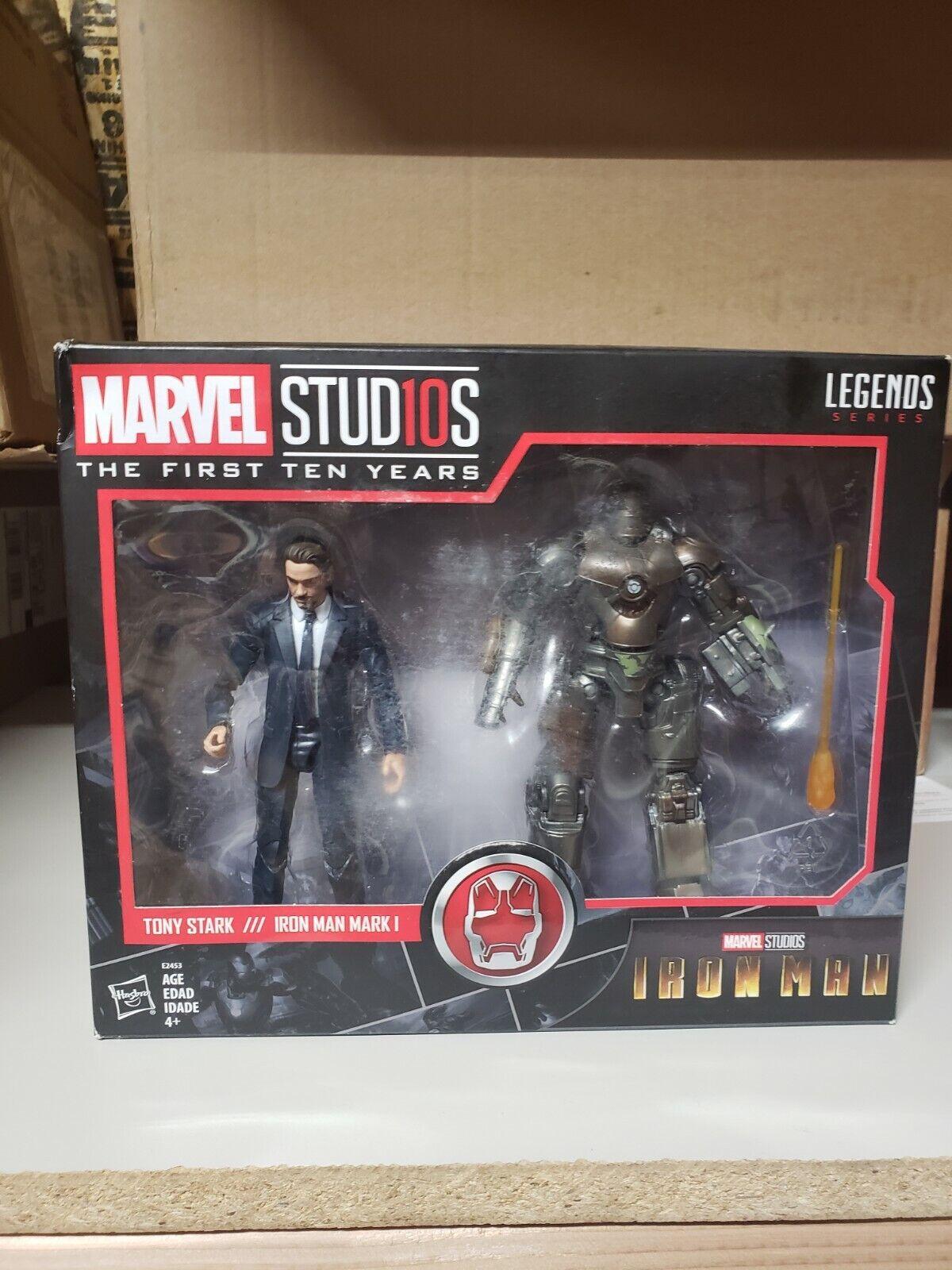 Marvel Legends Series Marvel Studios First 10 Years Tony Stark Iron Man Mark 1 on eBay thumbnail