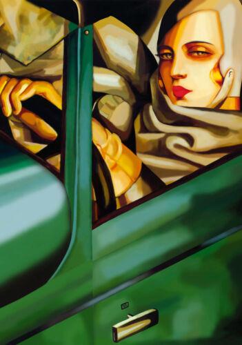 Lempicka # 03 cm 70x100 Poster Affiche Plakat Cartel Stampa Grafica Art papiarte