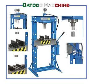 Pressa manuale idraulica a due velocita 39 con pistone for Pressa idraulica manuale