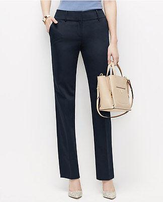 Ann Taylor -Woman's & Petites Signature Cotton Sateen Straight Pants $89.00 (64)