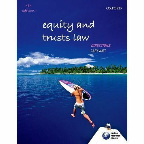 1 of 1 - Equity and Trusts Law Directions by Watt, Gary