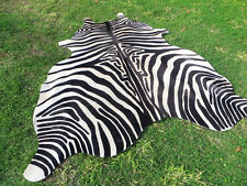 GORGEOUS NEW ZEBRA COWHIDE SKIN Rug Print Printed steer COW HIDE - DC5173 D5
