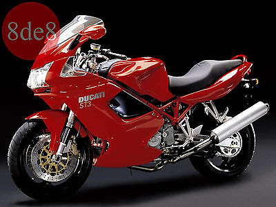 2004 Workshop Manual on CD Ducati Sport Touring ST3