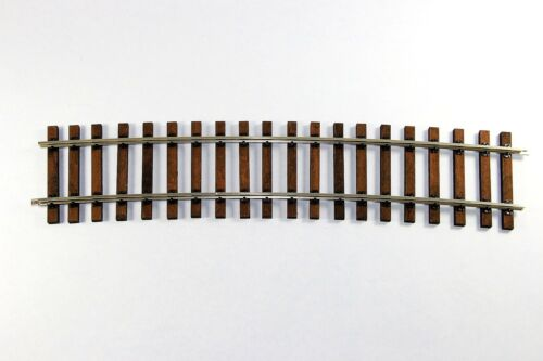 Art Nr Echtholzschwellen 2018mm 10° Gebogenes Gleis 300208 KM1 Modellbau
