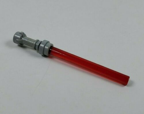 Details about  /LEGO Red Lightsaber with Gray Hilt Part for Minifigure Minifig Building Figure