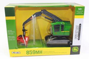 Ertl 45518 John Deere Abatteuse 859 Mh 1:50 Nouveau En Emballage D'origine