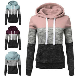 Winter-Women-Hooded-Hoodie-Sweatshirt-Coat-Jacket-Outwear-Pullover-Sweater-Warm
