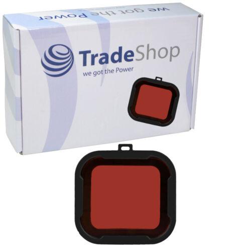 Bajo el agua rojo filtro UV tauchfilter para GoPro Hero 3 +/3 plus Hero 4 Aqua serie