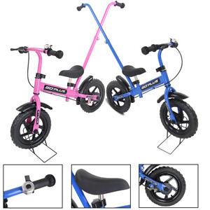 12-034-Laufrad-Lauflernrad-Kinderlaufrad-Kinderfahrrad-Lauflernhilfe-Schiebestange