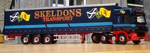 Corgi Cc13615, Daf Cf Curtainside - Skeldons Transport, 1:50 807903136153