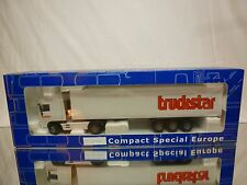 CSE JOAL DAF 95XF TRUCK + TRAILER - TRUCKSTAR - WHITE 1:50 - GOOD IN BOX 1272000
