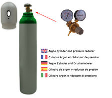 Gas bottle 8 liters Argon 4.8 Protective gas welding gas TIG WIG brand new