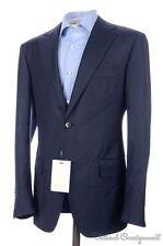 NWT - SUIT SUPPLY Napoli Solid Blue Super 110 Wool Blazer Sport Coat Jacket 38 R
