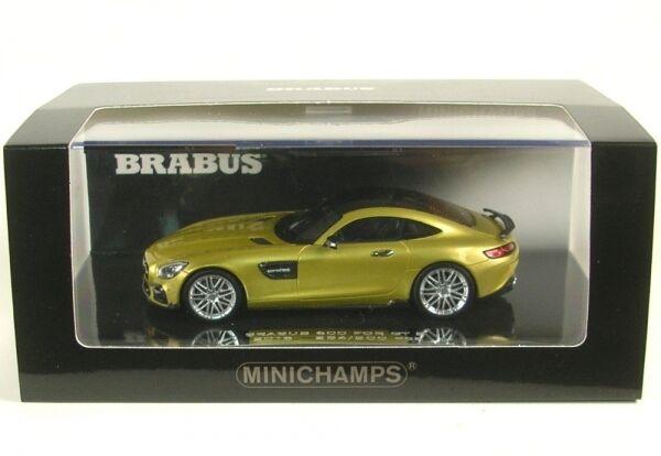 Brabus 600 GT S (oro color) 2016