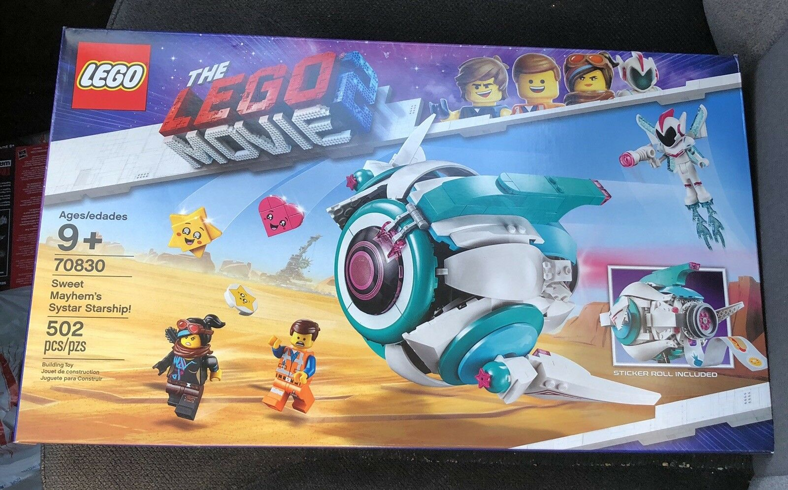 LEGO The Lego Movie 2 Sweet Mayhem 'Systar Starship   502 pièce (70830)  service attentionné