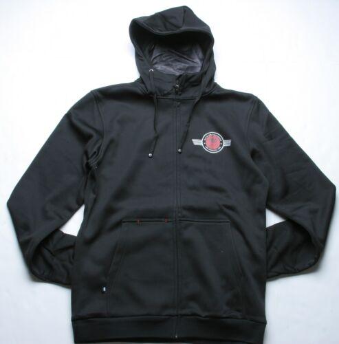 Black 686 LTD Matix Flight Bond Tech Fleece Jacket L