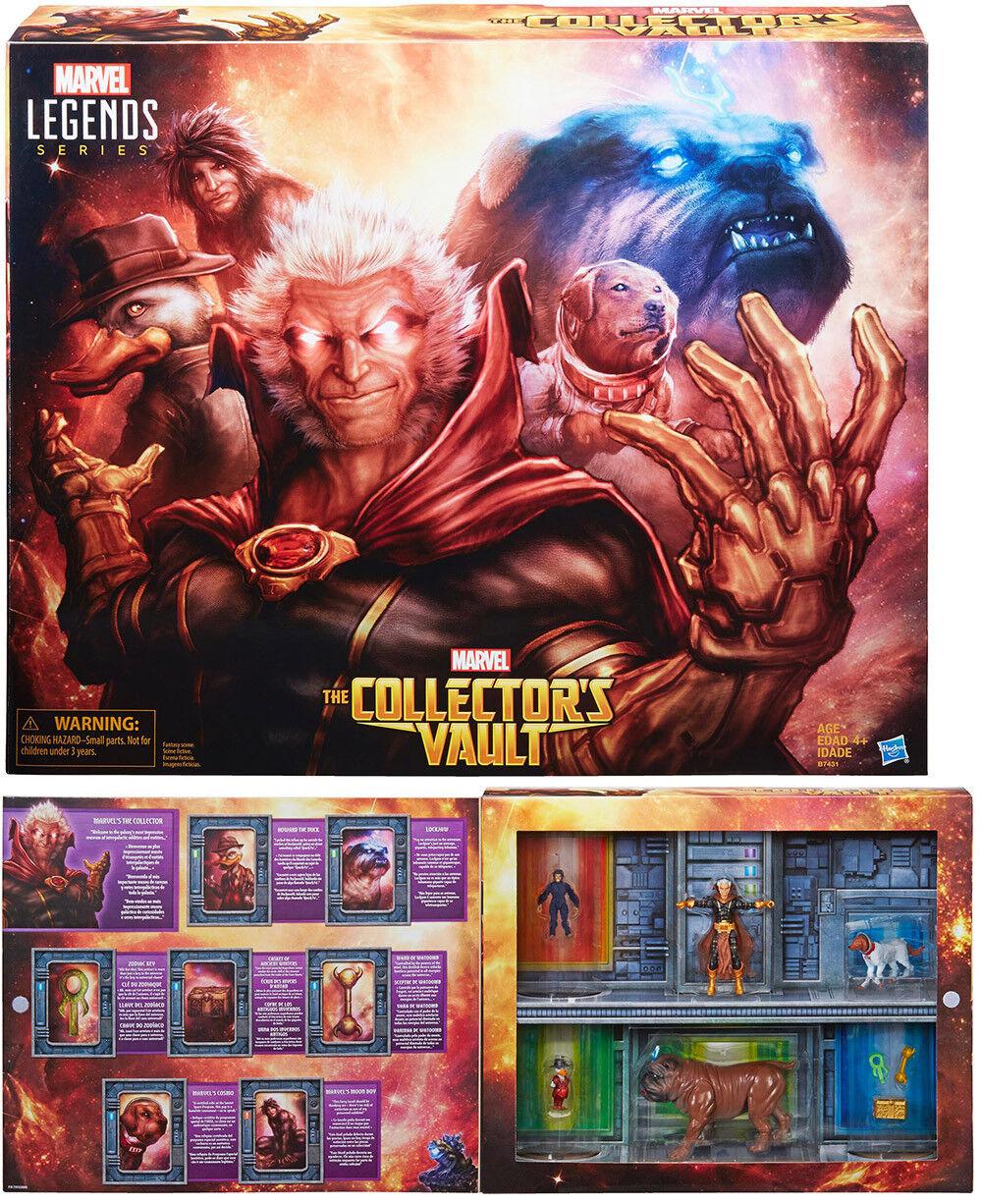 Marvel Universe Legends Figure Collector Set - The Collectors Vault SDCC 2016