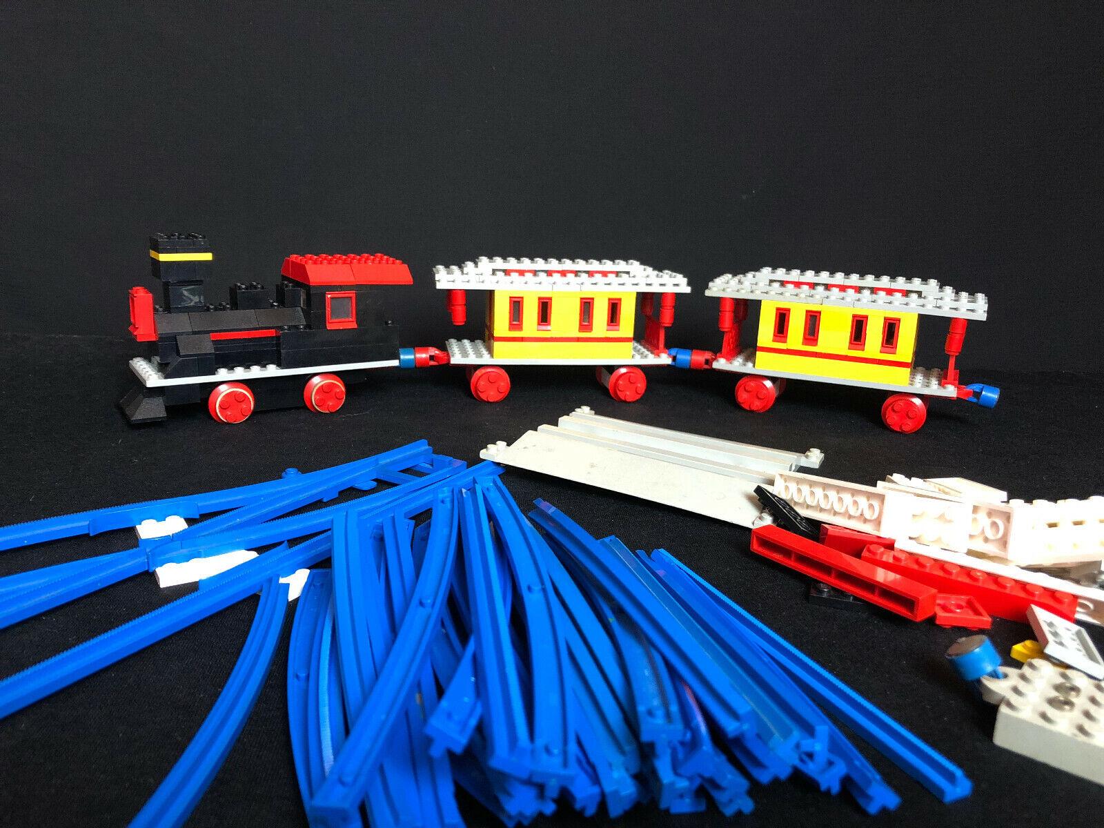 Lego 119 Super Train set de 1968, city, town, ciudad