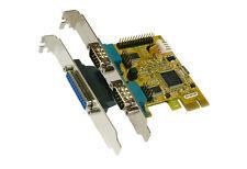Exsys EX-44140-2 - PCI Express Karte 2x Seriell / 1x Parallel, Multi I/O