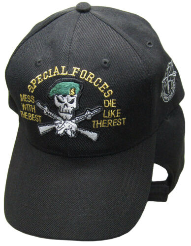 Special Forces Mess Best De Oppresso Liber U.S Army Embroidered Cap Hat