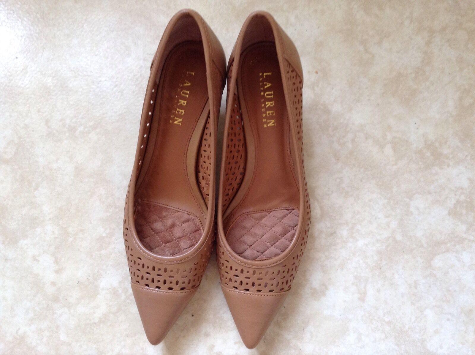 Ralph Lauren Damen Schuhe Gr. 38 Leder Neu